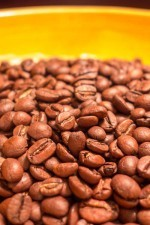 One-half pound of the finest coffee beans