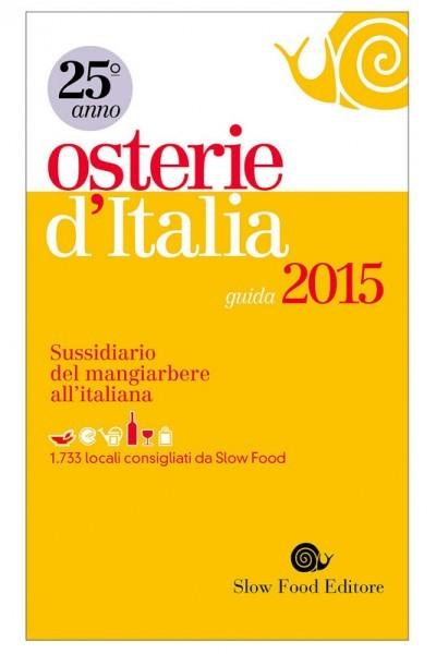 Osterie d'Italia 2015 edition