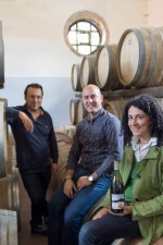 Giuseppe Russo and team in their cantina