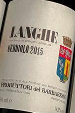Produttori del Barbaresco Langhe Nebbiolo on dalluva.com