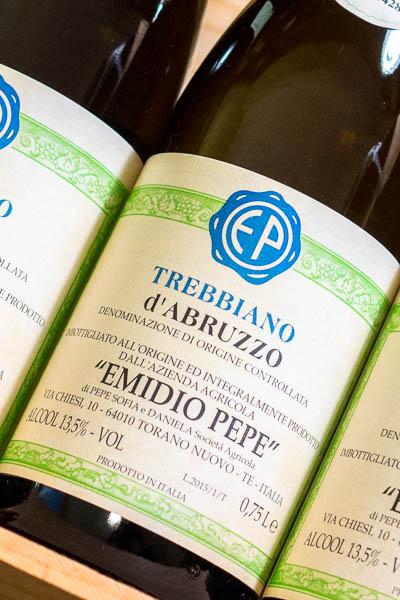 Emidio Pepe Trebbiano d'Abruzzo 2015